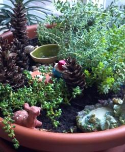 Fairy garden back