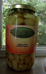 It's hard to find good pickled garlic. This is good stuff