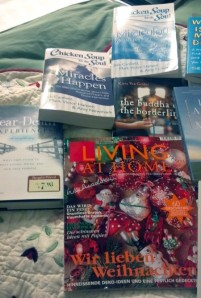 The M. S. Living is a loan from my German  friend. No, I can't read it all yet.