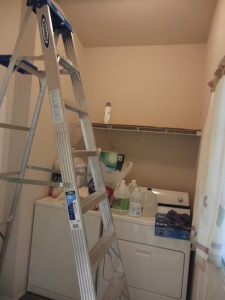 The color on the walls was watered down (alot) paint. No washing this stuff