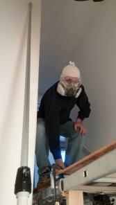 Ninja painter? Scary job