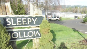 Yes, I live in Sleepy Hollow. Scary, isn't it?