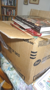 More craft books to get moved on intact.