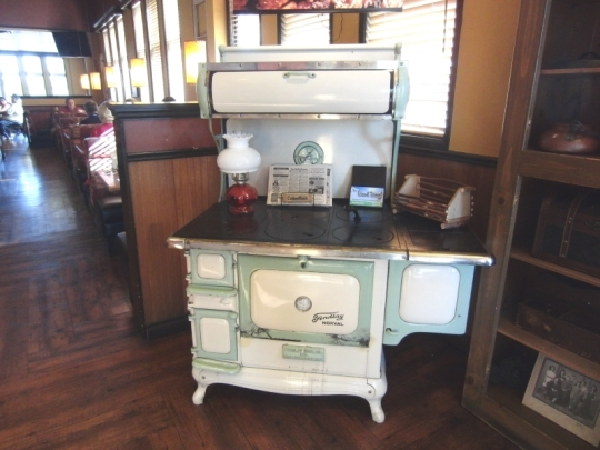 The ABC restaurant was a nice start of our day. I wanted to take this stove home.