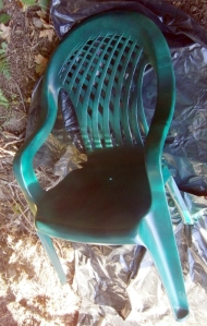 My Chair on the hill after
