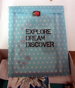 Little packet of fun inside