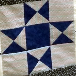 Can you spot two of these in that big finished quilt?