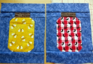 We each got 2 to make for a quilter in our group. A dozen of these will be so cute
