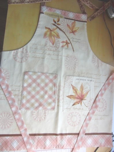 A panel apron with a bit of difference