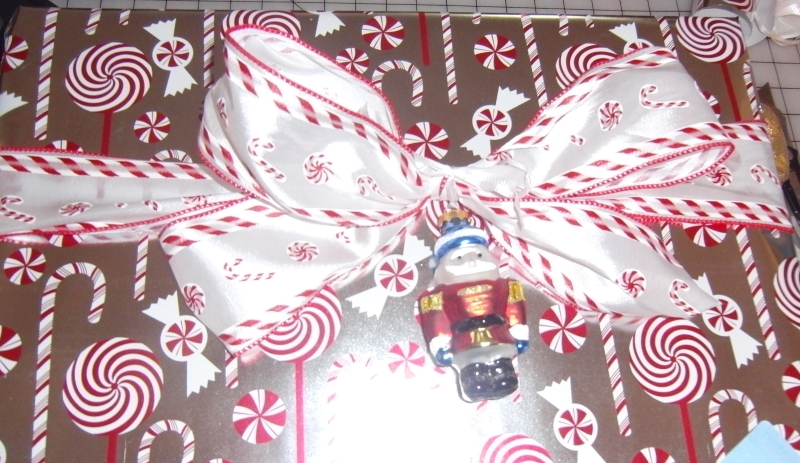 Candy cane lane. You get an ornament with the gift