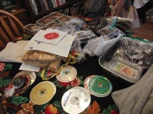 Breads, brownies, crispy treats and music