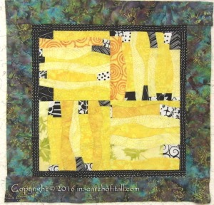 I love the free-form Art quilt