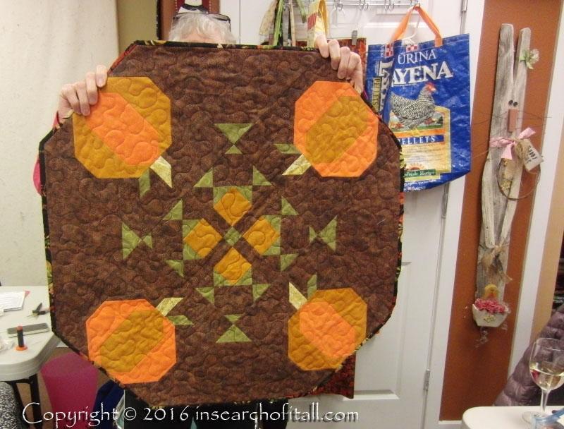 Patti's pumpkins have binding now.