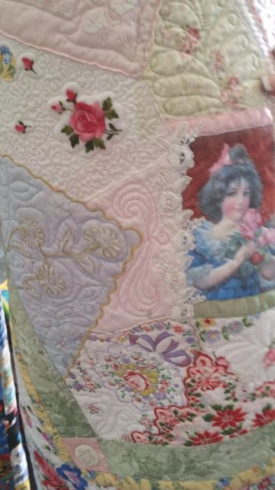 C. C. handkerchief quilt