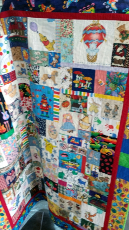 CC child's patchwork quilt