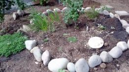 Memory garden circle started