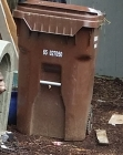 Much larger than my trash can.