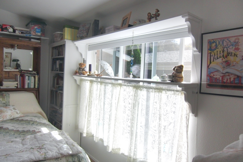 Recycled curtains saved me time and money.