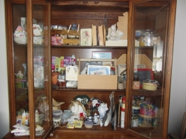 I tried to store crafts in there. Not all that helpful.