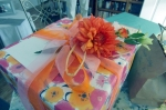 fresh flowers wrapping
