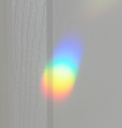 Rainbows on the walls