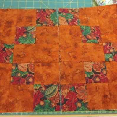 October squares for quilt group