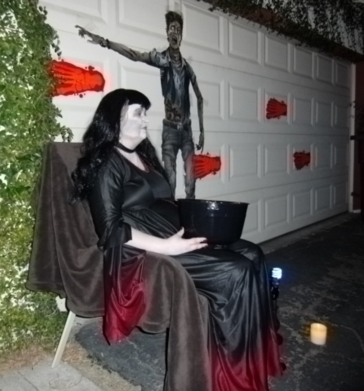 Would you have asked her for candy?