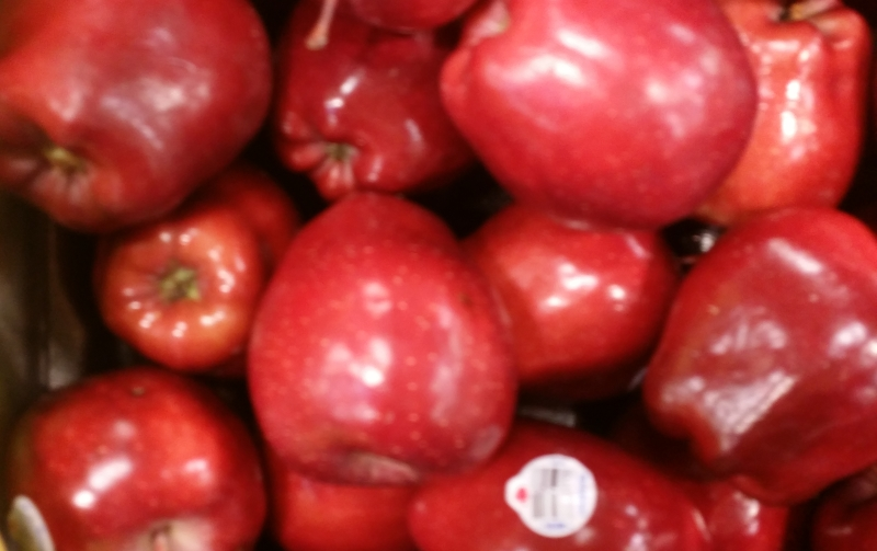 An old standard, the Red Delicious.