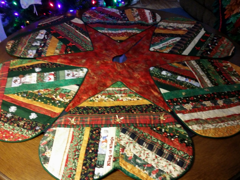 The whole tree skirt