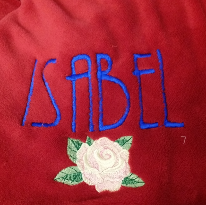 Isabel Rose is her name.