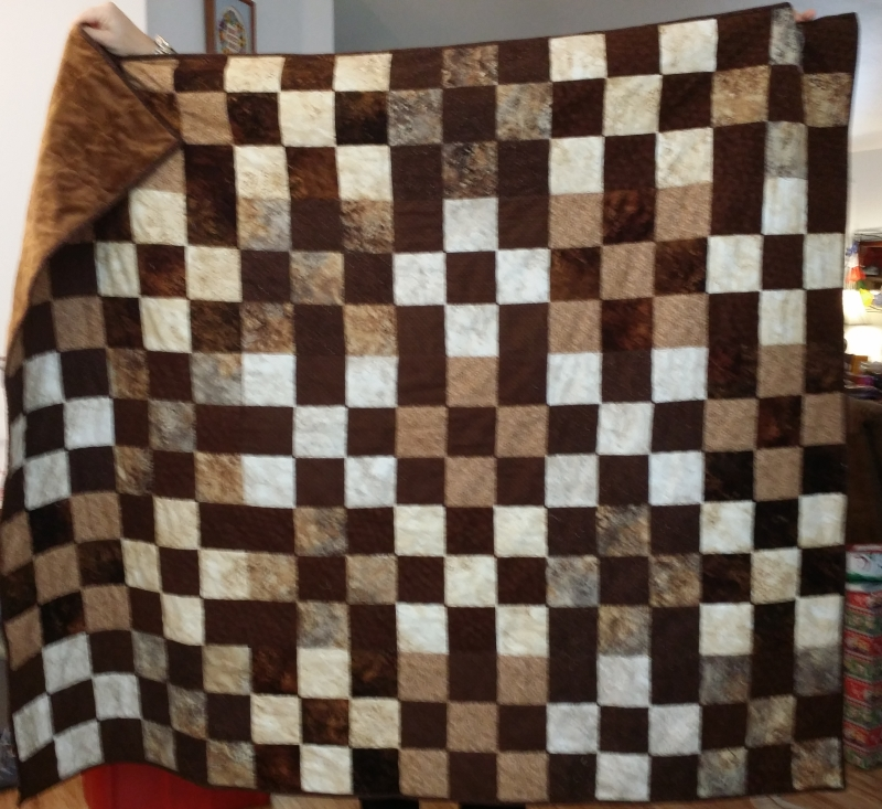 Quilt for Tech Support.