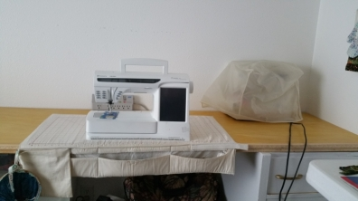 fresh start on the sewing space