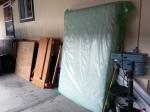mattress in thedriveway