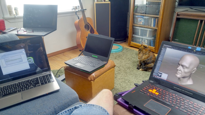 Eric's laptops