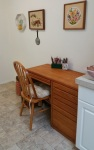 desk minus bookcase
