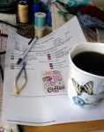 coffee hanging starts