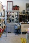inside vintage shop