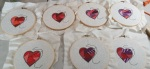 Hearts for sewing