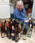 booze in thefloor