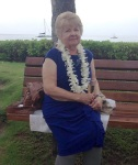 Lamoyne at wedding in hawaii