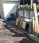 skirting and wood