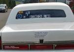 redneck limo backsigns