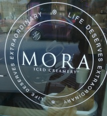 Outstanding ice cream even on a cold day
