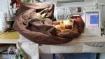 leftover quilt wrangled