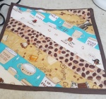 coffee mat binding