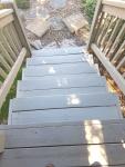 stairs waiting todry